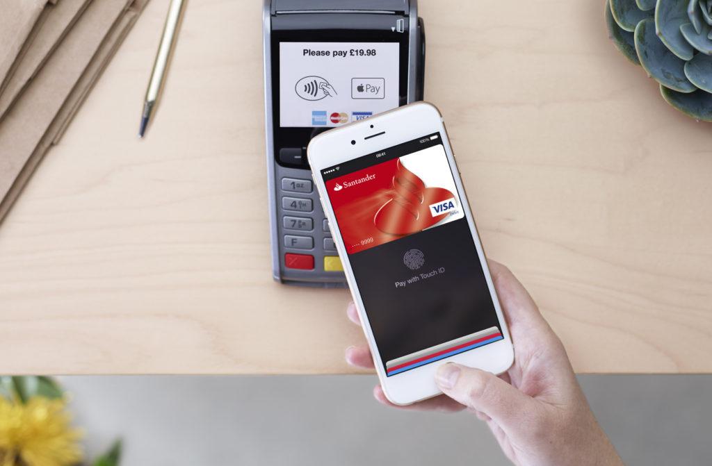 Пример оплаты при помощи Apple Pay