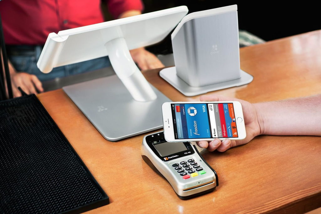 Пример работы Apple Pay