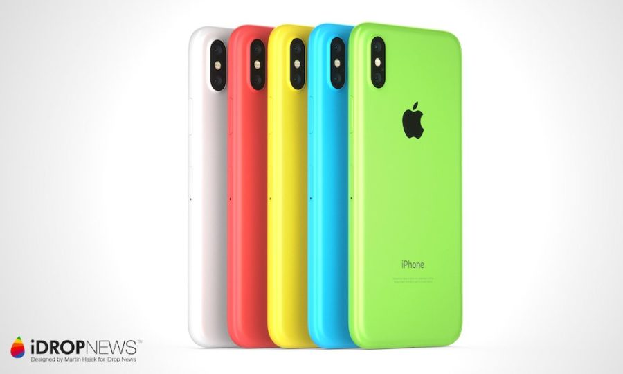 Рендер 6.1 дюймового iPhone от iDROPNEWS