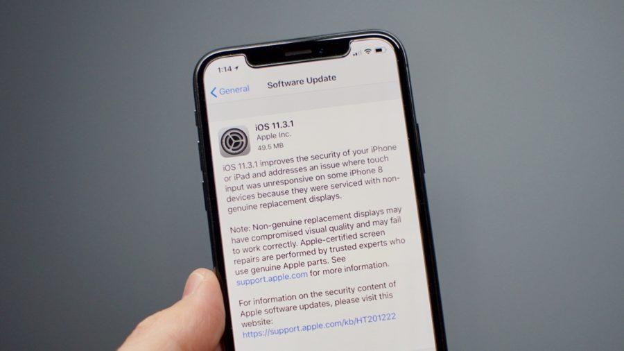 iOS 11.3.1 - проблемы с аккумулятором