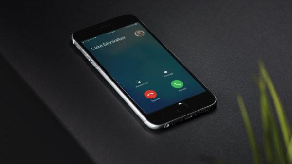 входящий звонок на айфоне