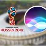 Siri может рассказать всё о ЧМ 2018 по футболу в России