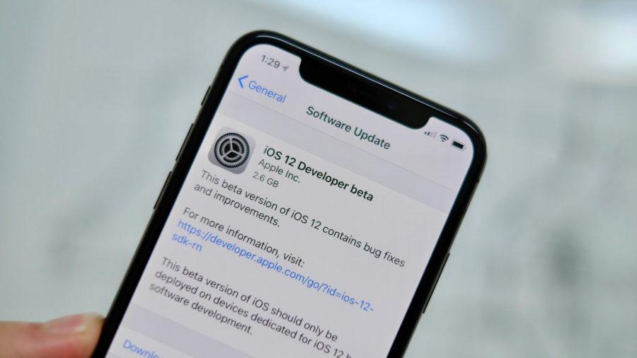 iOS 12 Beta 1