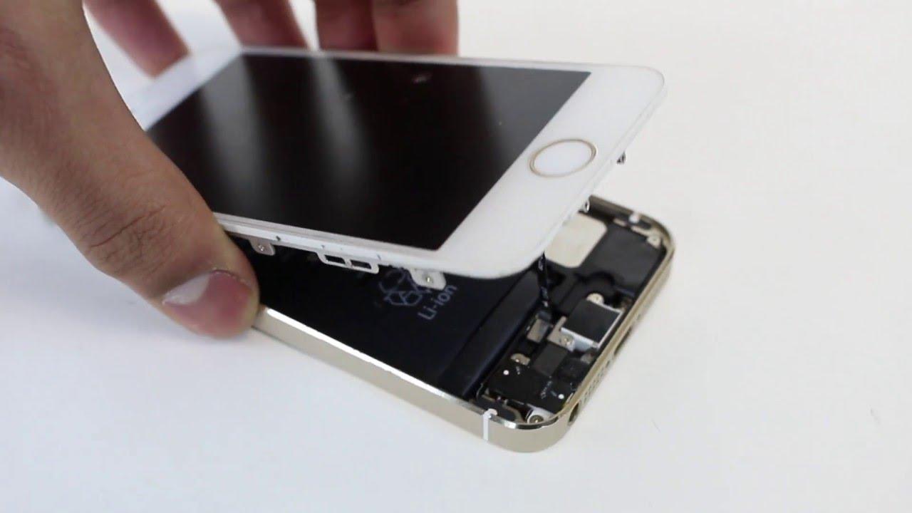 Замена батареи на iPhone 5S