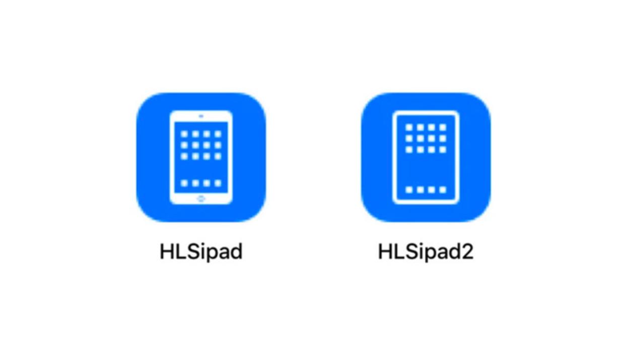 Иконки старого и нового iPad