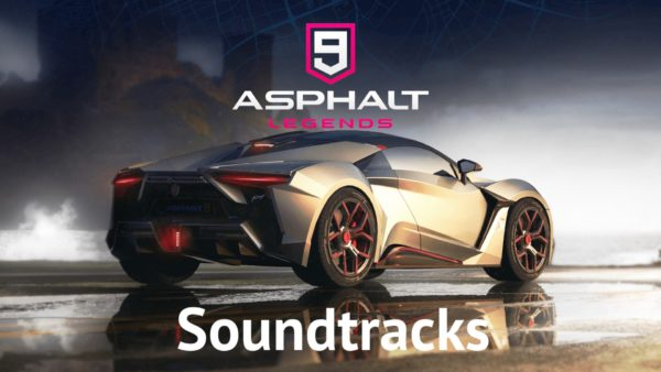Asphalt 9 Legends Music