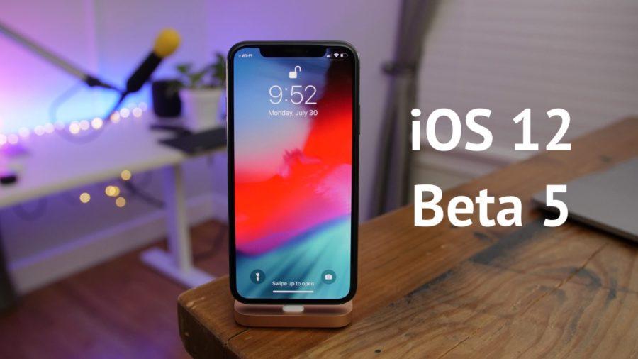 iOS-12-Beta-5