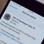 iOS 12 Beta 10: что нового, когда выйдет