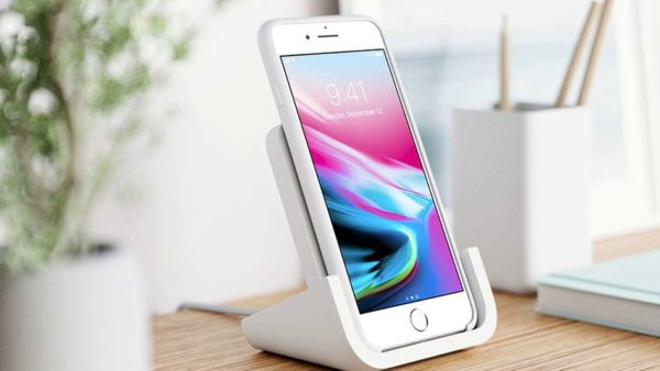 logitech wireless charger for iphone