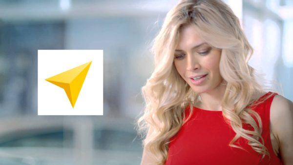 Голос Веры Брежневой теперь в Яндекс Навигаторе