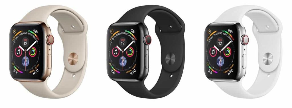 Apple Watch Series 4 (Gold, Space Gray, Silver)