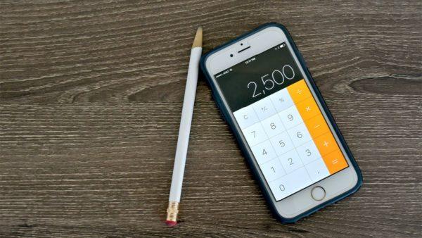 Calculator-on-iphone