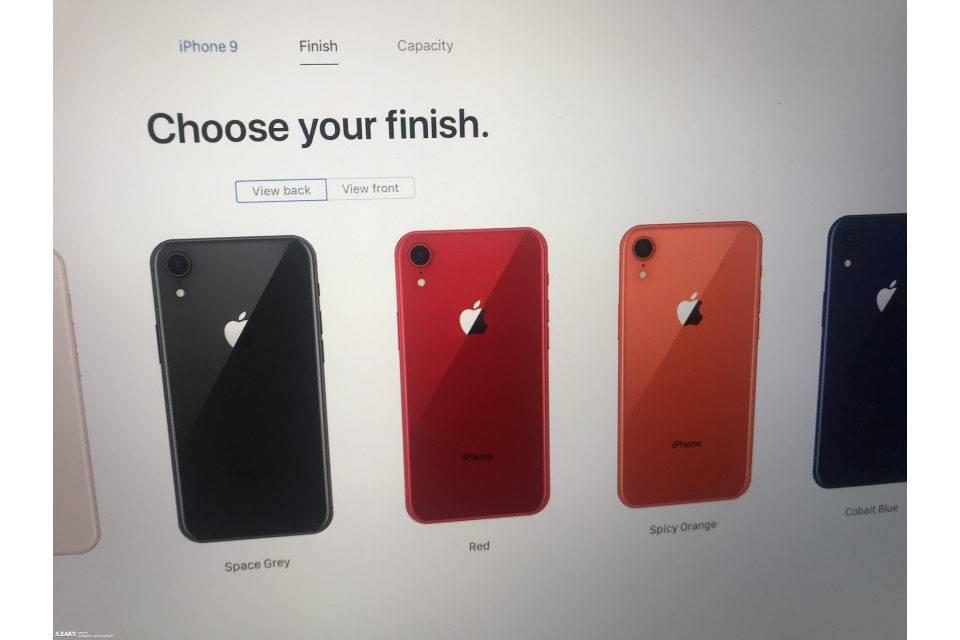 Утечка iPhone 9 от Slashleaks