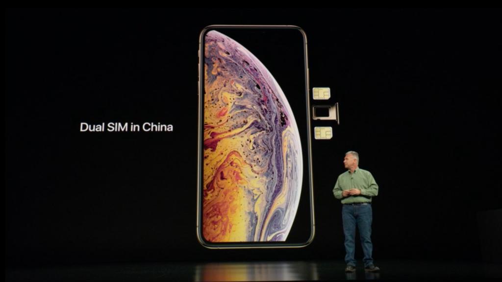 iPhone dual-SIM in China