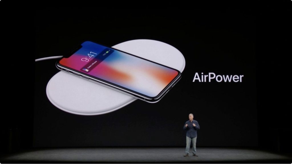 iPhone X and AirPower