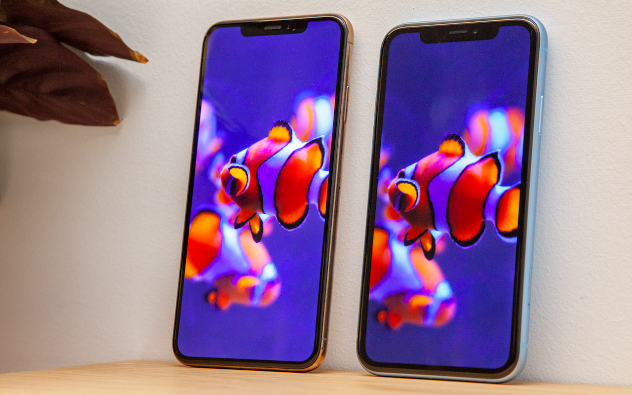 iPhone Xs Max and iPhone Xr