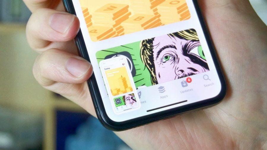 screenshot iphone xs