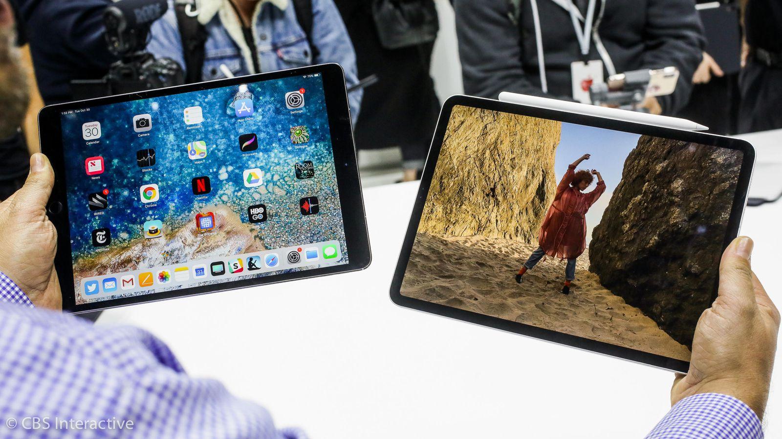 iPad Pro (2016) and iPad Pro (2018)