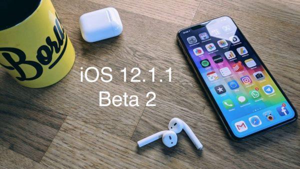 ios 12.1.1 beta 2