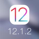 Apple сделала релиз iOS 12.1.2