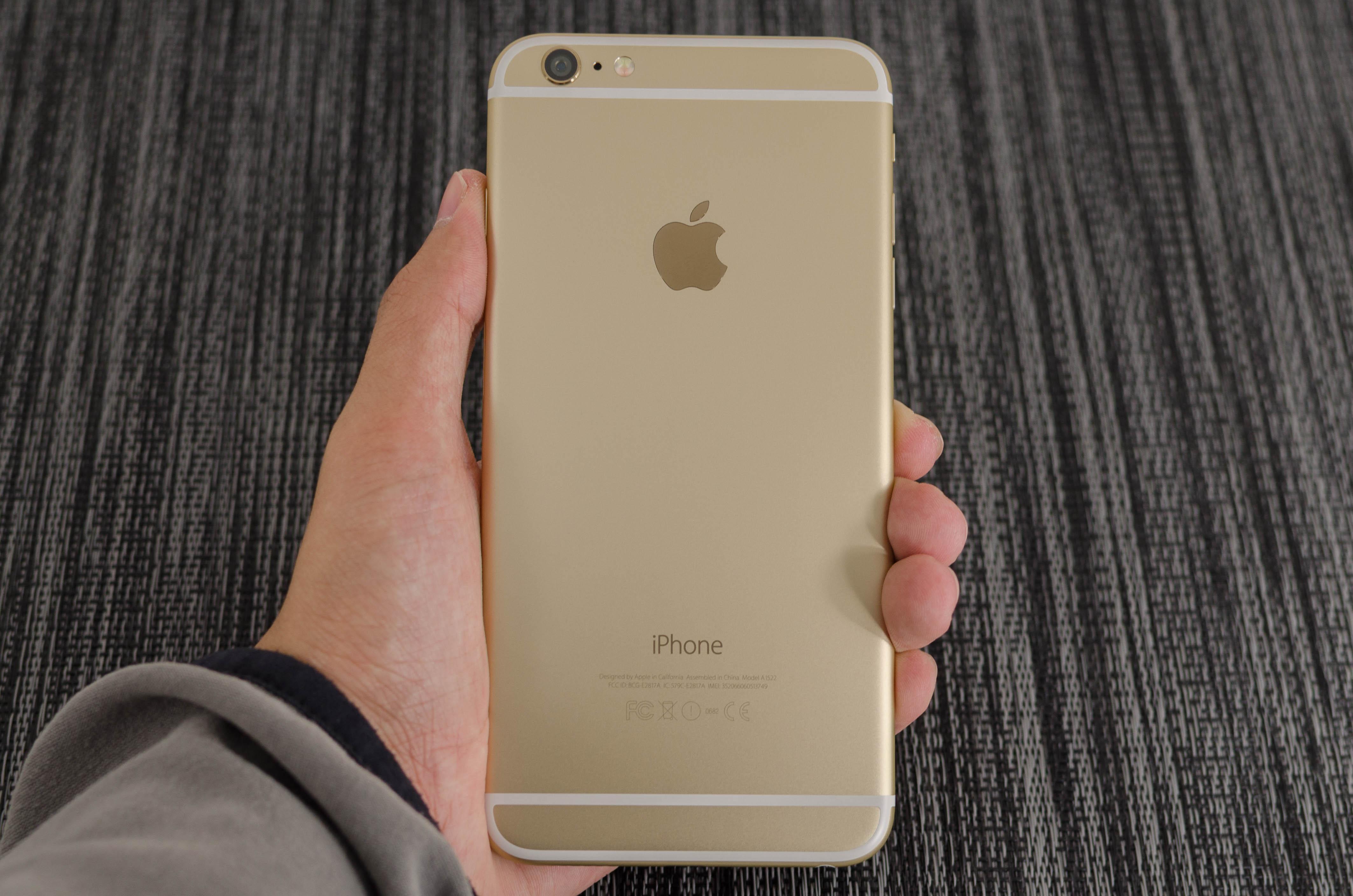 Задняя часть iPhone 6 Plus