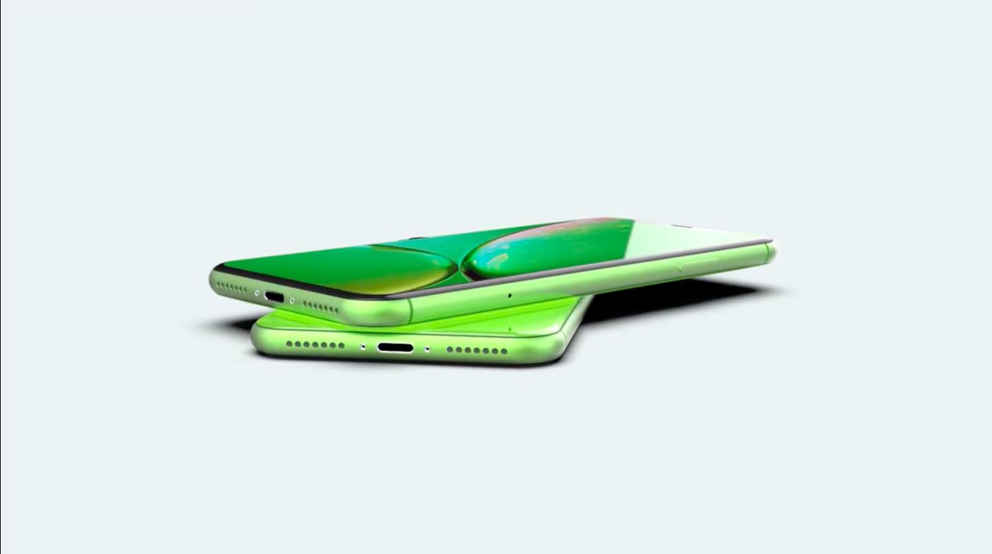 Зеленый вариант iPhone Xr