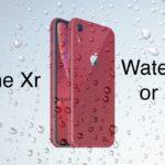 iPhone Xr (10r) — водонепроницаемый или нет?