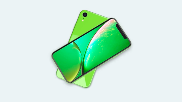 Green iPhone Xr