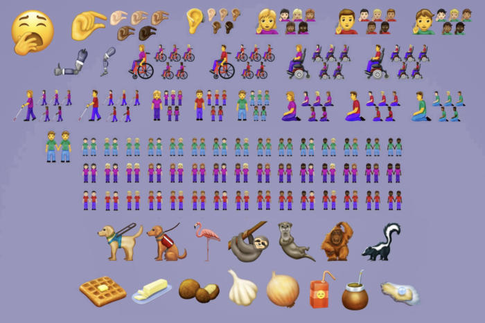 New 230 emojis for iOS 13