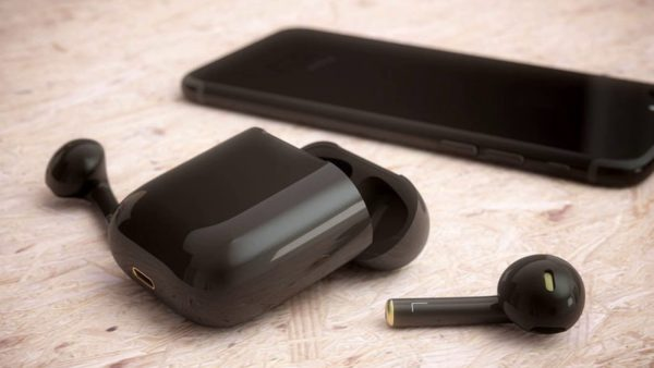 black airpods