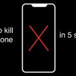 Убиваем iPhone за 5 секунд. Найден новый баг в iOS 12