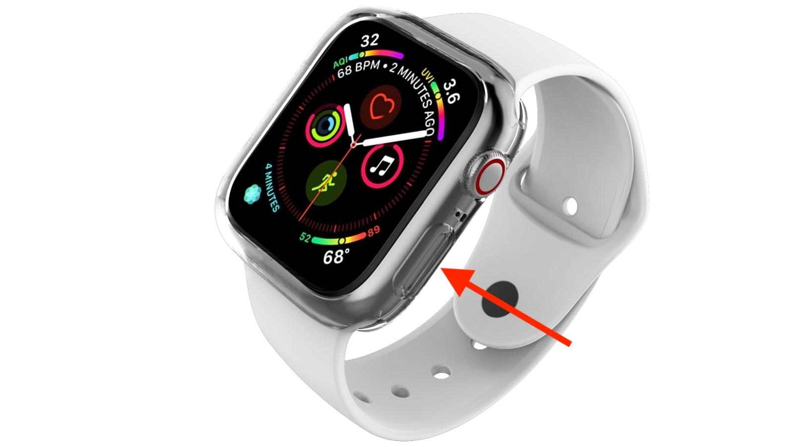 Включение Apple Watch 4