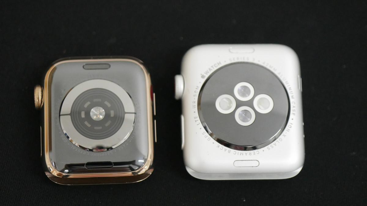 Задние панели Apple Watch 4 и 3 серий