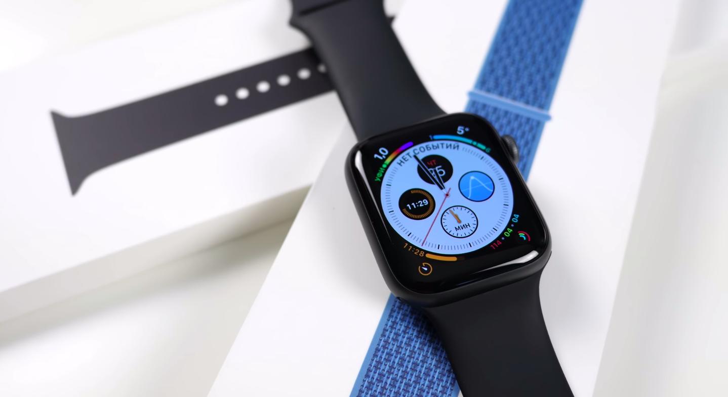 Новый циферблат в Apple Watch 4