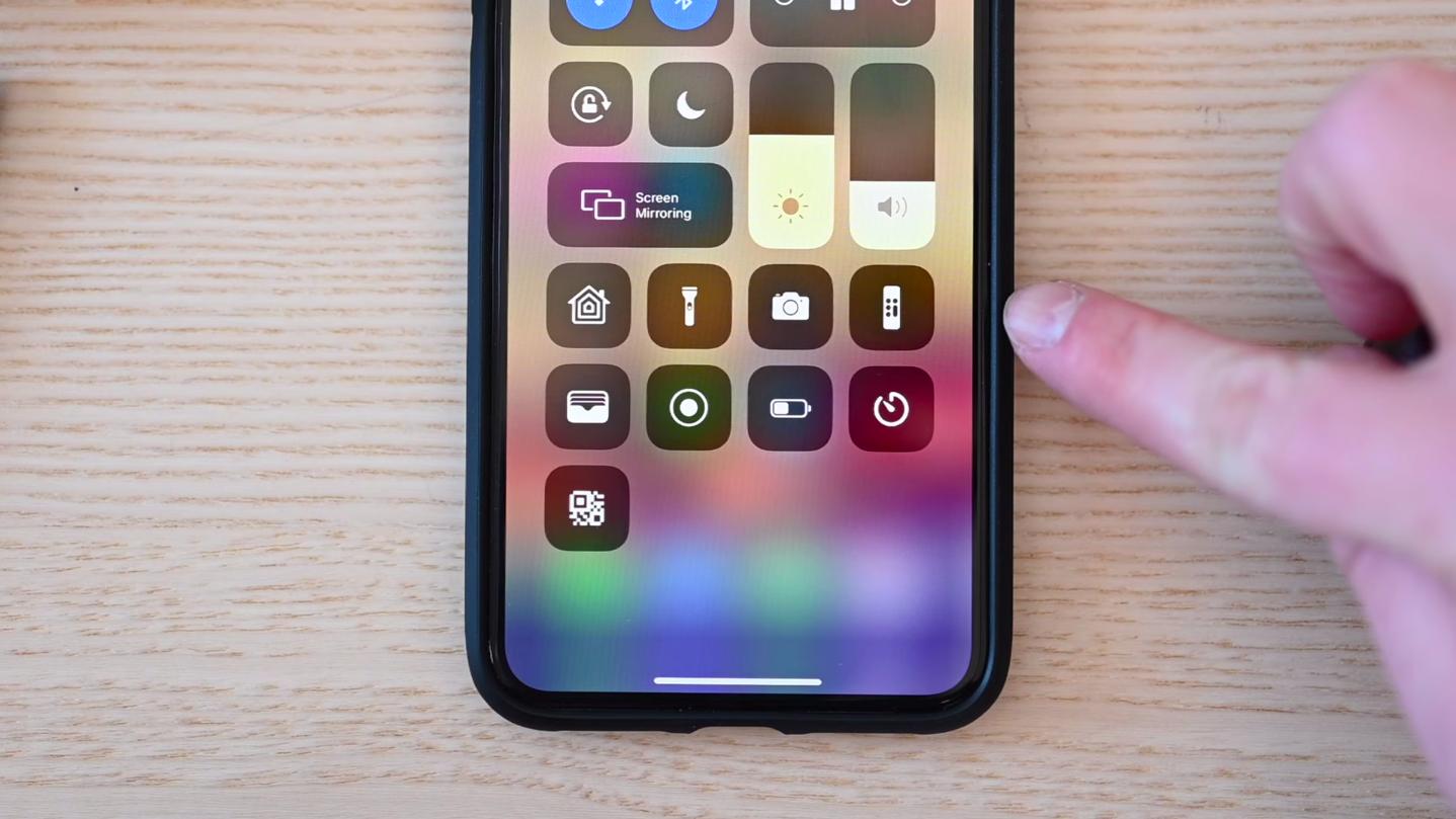 Обновленная кнопка для вызова пульта Apple TV