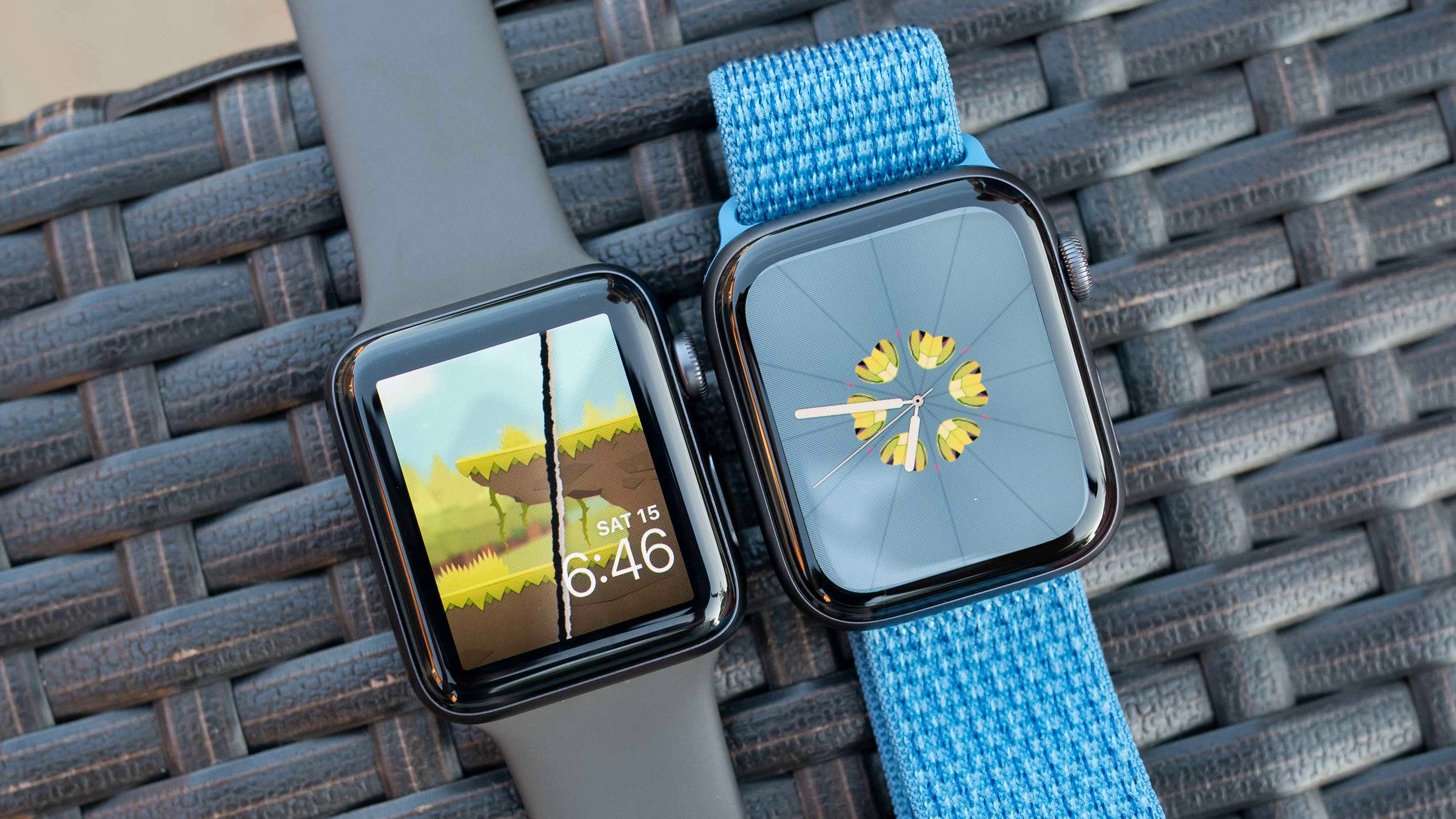 Apple Watch 3 и Apple Series 4