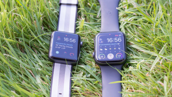 Apple Watch 3 and Apple Watch 4
