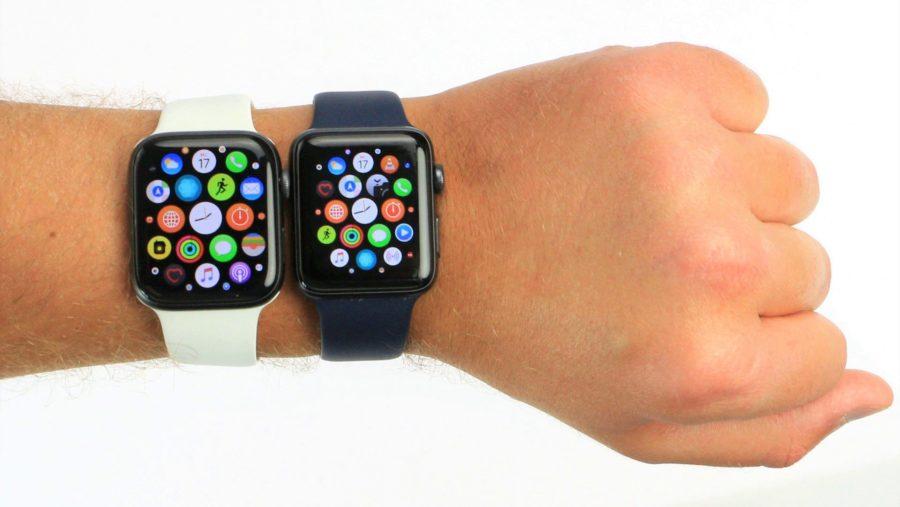 Apple Watch 4 и Apple Watch 3