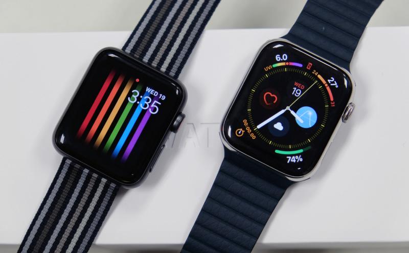 Apple Watch Series 3 и Apple Watch 4