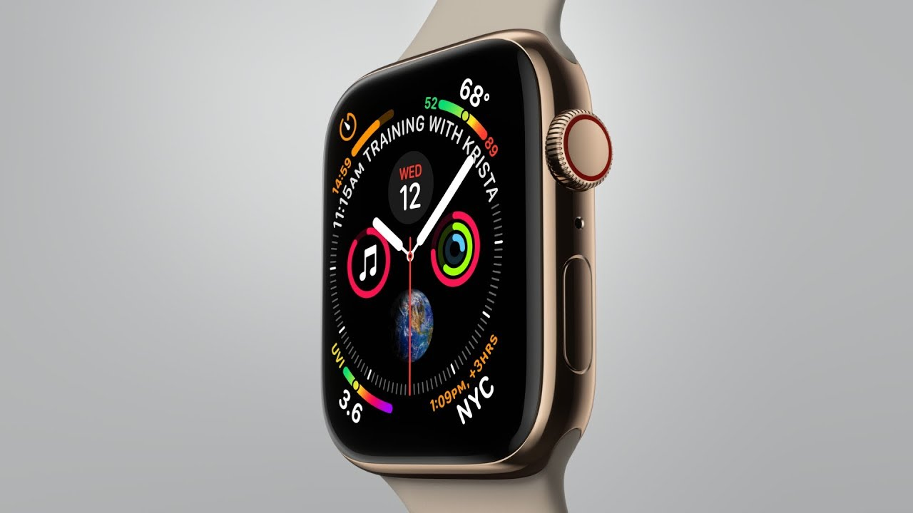 Apple Watch Series 4 (Gold)