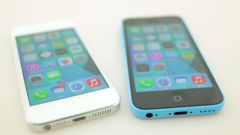 iPhone 5 и iPhone 5C