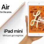 Apple начала продажи обновленного iPad Air 3 и iPad Mini 5