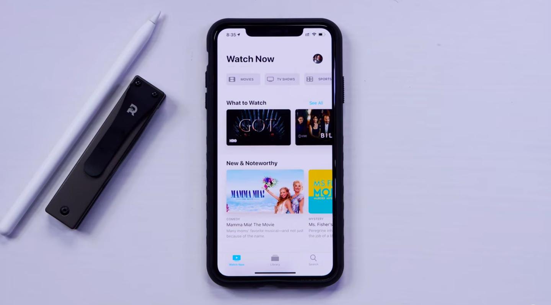 Новый интерфейс Apple TV