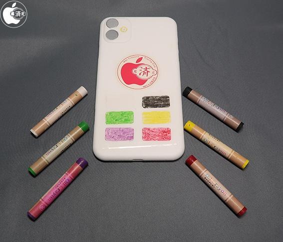 Примеры новых цветов iPhone Xr 2019