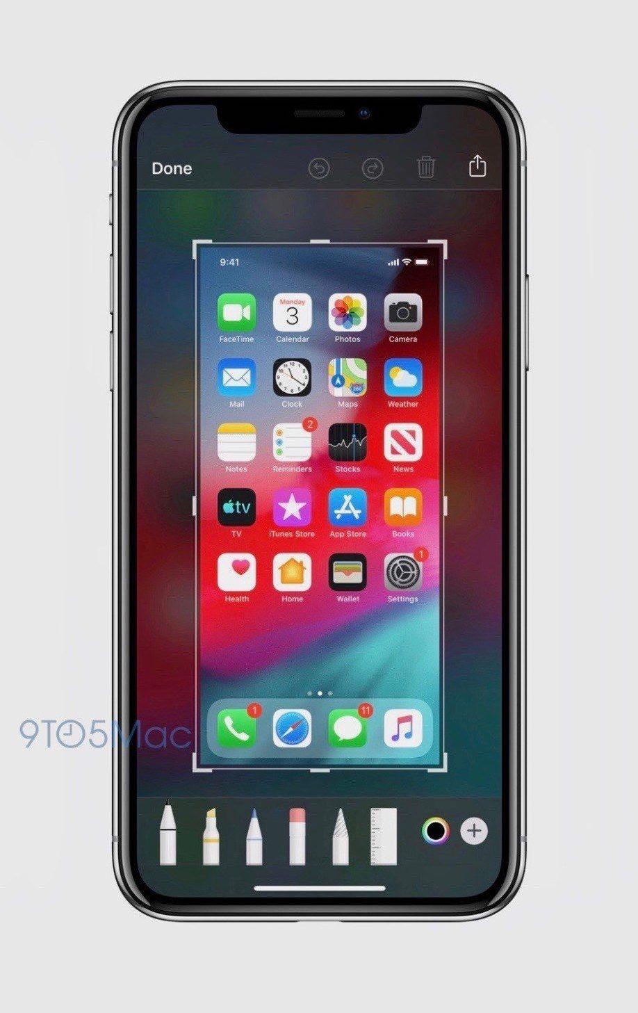 Скриншоты в iOS 13