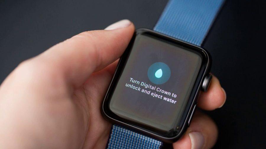 apple watch water
