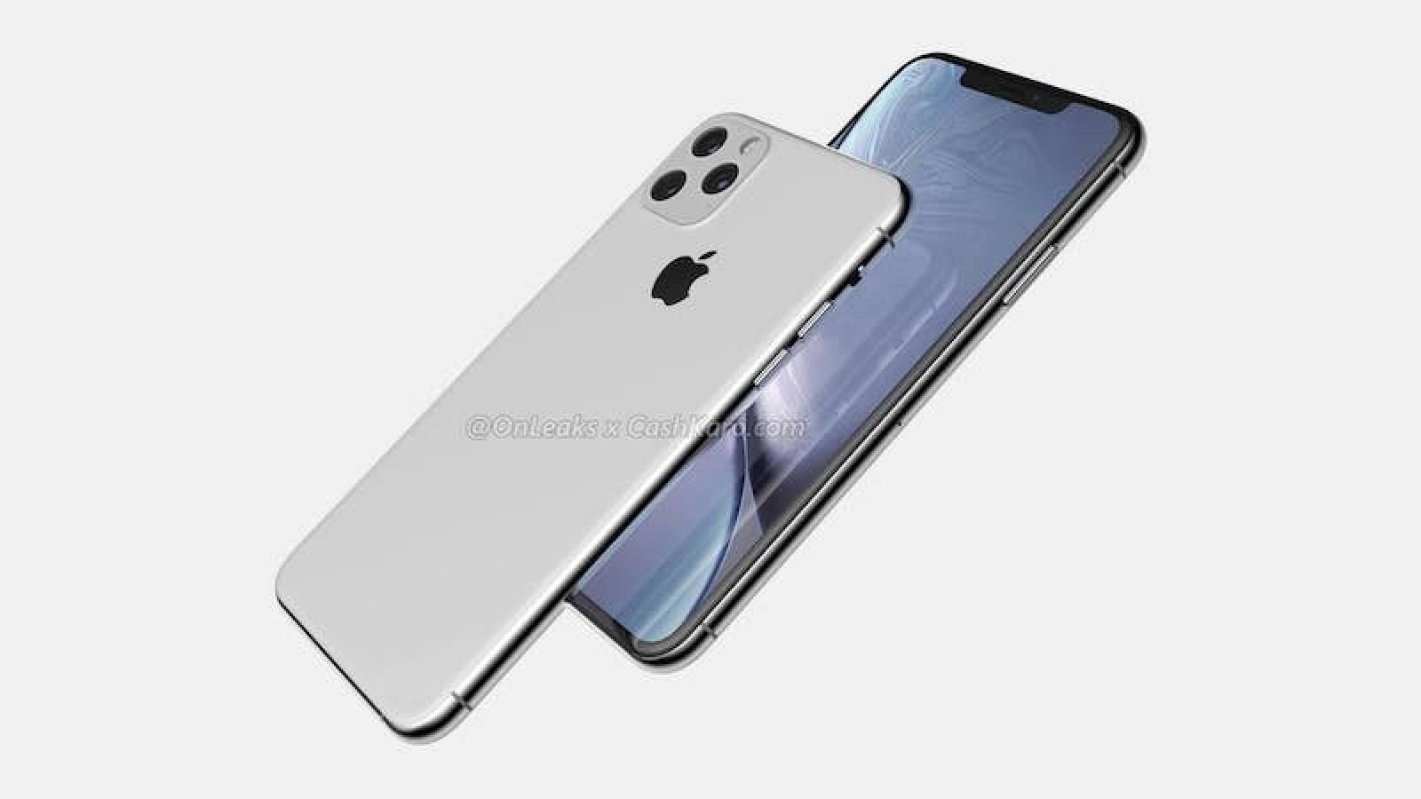 iPhone XI (2019): вид сзади и спереди
