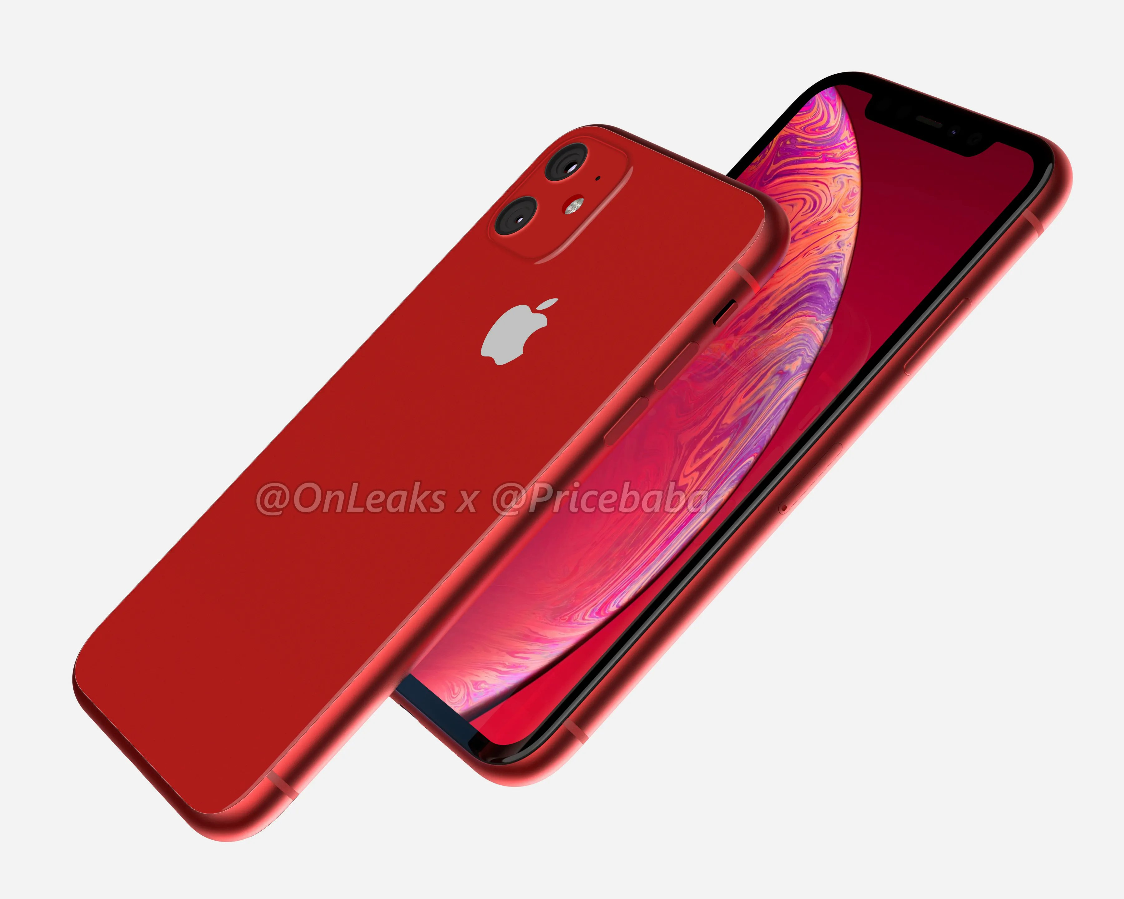 iPhone Xr 2019: вид сзади и спереди