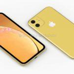 Появились новые рендеры iPhone Xr 2 (2019)