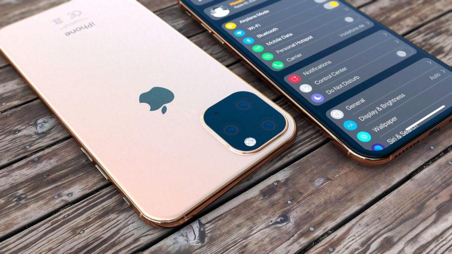 iPhone Xi 2019 gold